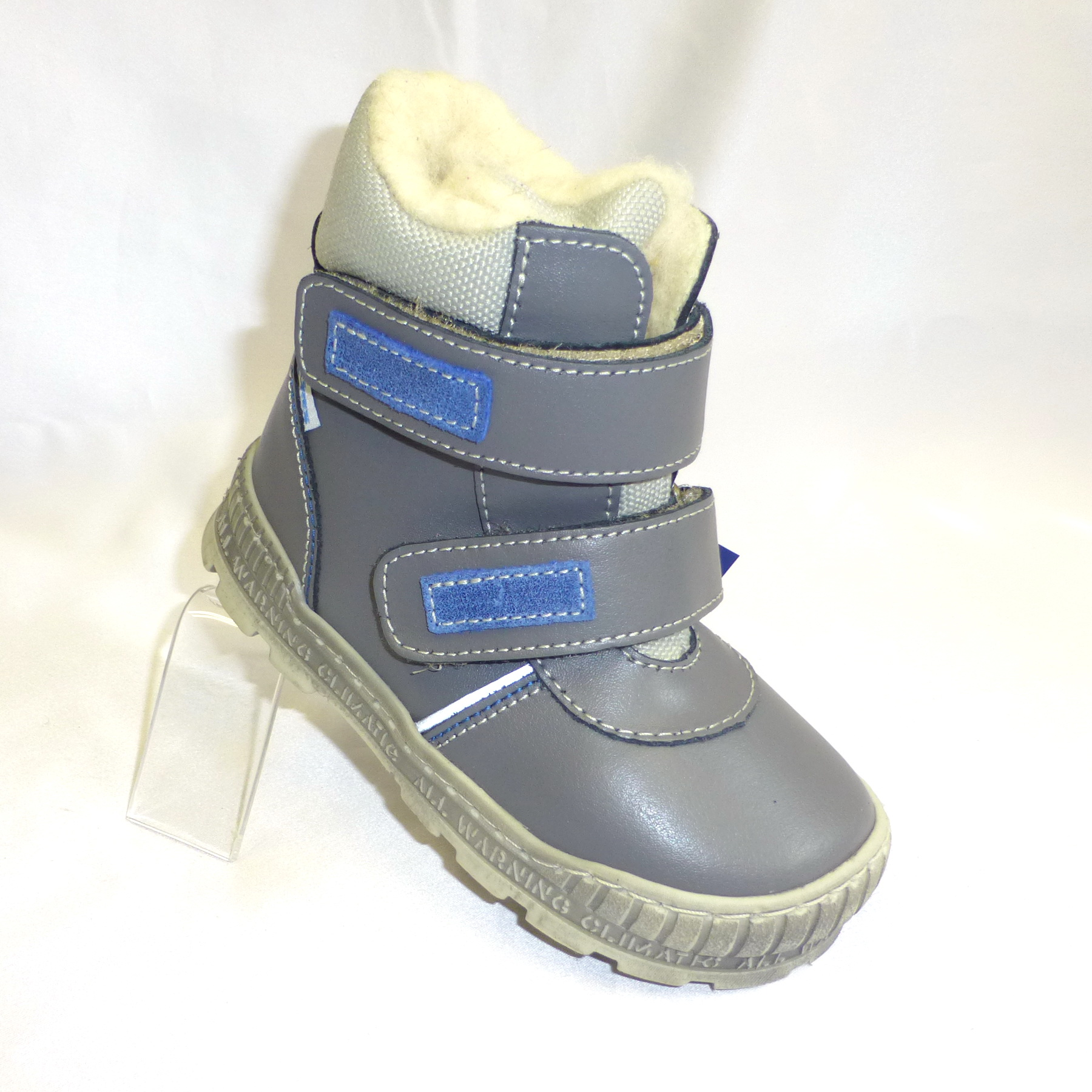Dětské zimní botičky Pegres suchý zip  ad8a659f45