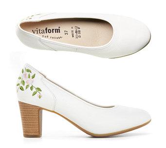 8fb01500863 Dámská obuv Vitaform lodičky bílé
