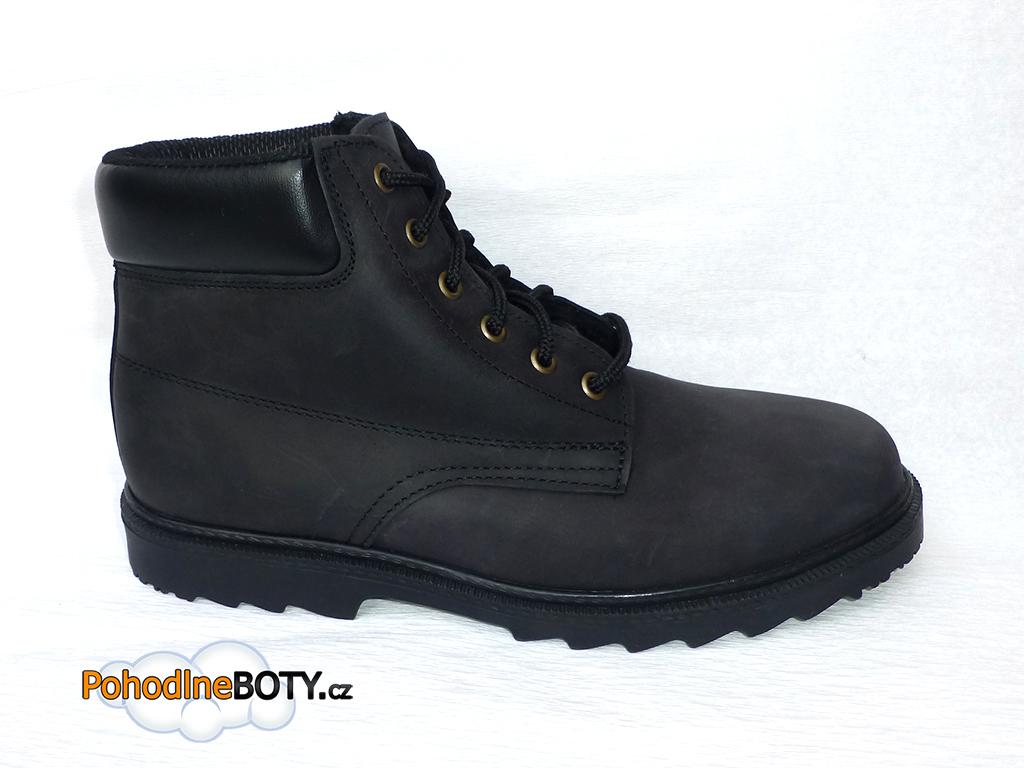 f75feef7b68 Kotníkové zimní boty na traktorové podešvi