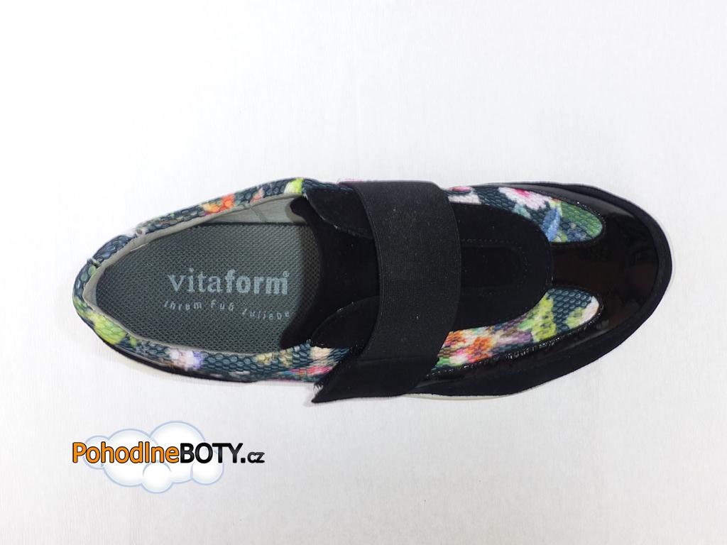Tenisky zdravotní Vitaform active na suchý zip c09096773f