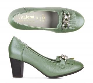 9a9ce6716d8 Elegantní lodičky zelené Vitaform